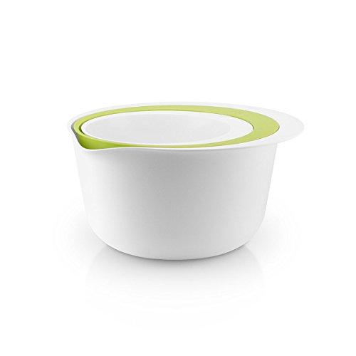 EVA SOLO Rührschüssel Durchschlag White/Lime