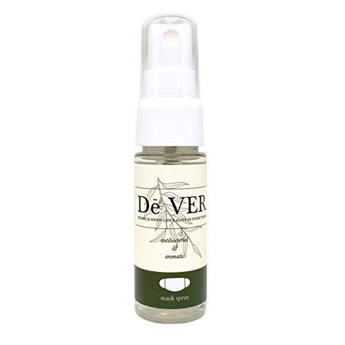 Face Mask Refresher Spray - Aromatherapy Mask Deodorizer with Premium Grade Essential Aroma Oils - Portable Natural Mask Freshener