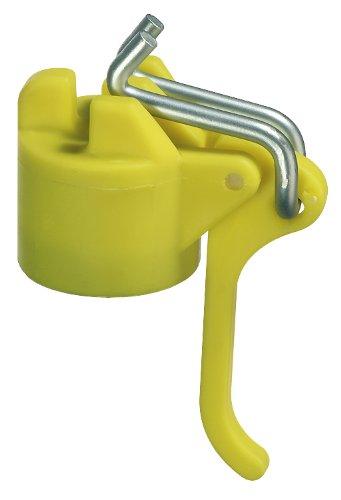 GAH-Alberts 654252 Leinenspannerkopf für Wäschpfähle, gelb, für Rohr: Ø44 mm