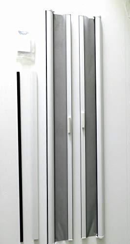 Casper Retractable Double Door Screen (White)