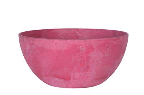 Artstone Maceta para Flores Jardinera Fiona, Resistente a Las heladas y Ligera, Rosa, 25x12cm