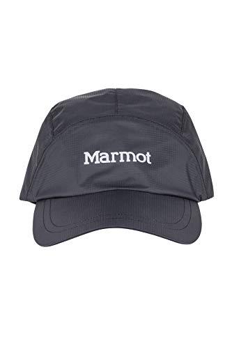 Marmot Erwachsene PreCip Eco Baseball Cap Kappe Mit Uv-Schutz, Black, One Size