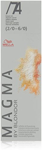 Wella Magma by Blondor/ 74 braun-rot, 1er Pack, (1x 0,12 kg)