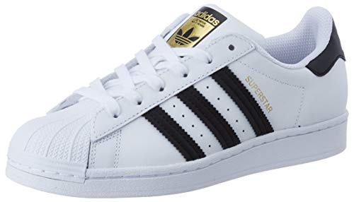 adidas Damen Superstar W Sneaker, FTWR White/Core Black/FTWR White, 39 1/3 EU
