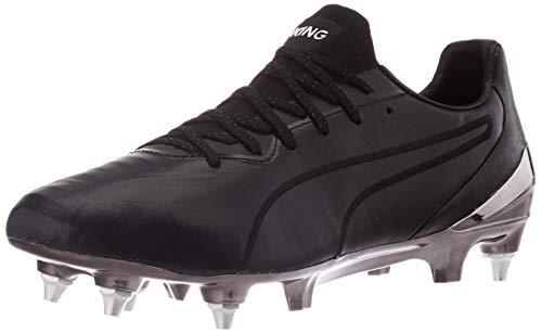 PUMA King Platinum MX SG, Zapatillas de Fútbol Hombre, Negro Black White, 43 EU