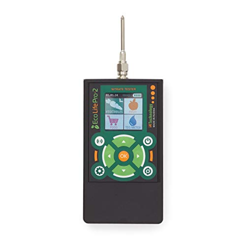 Ecotest Food Chemical Detector Digital Nitrate Tester and TDS Meter for Fruit, Meat and Vegetable