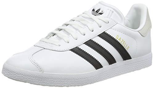 adidas Damen Gazelle W Running Shoe, FTWWHT/CBLACK/Crywht, 38 2/3 EU