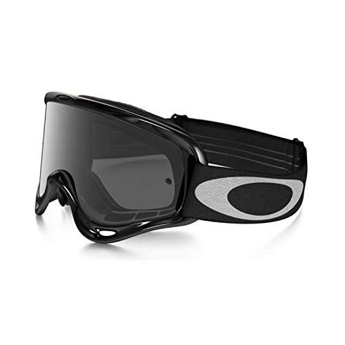 """Oakley–Maschera da Motocross Modello """"O-Frame Jet"""" a Schermo grigio scuro, Colore: Nero, rif. 80400011"""