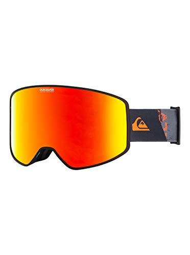 Quiksilver Storm Sportline-Snowboard/Esquí Máscara para Hombre, Shocking Orange radpack, 1SZ