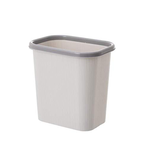 BTKDIDDDDD Bins Bins Bins Barbage Poder con un Anillo de Presión Bote de Basura Casa Cocina Sala de Estar Canasta de Baño