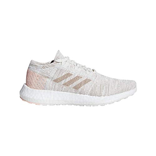 Price comparison product image adidas Unisex Pure Boost Go Running Shoe,  semi Solar Pink / Clear Brown,  3.5 M US Little Kid