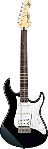 Yamaha Pacifica 012 Guitarra Eléctrica Guitarra 4/4 de madera, 64.77 cm, escala 25.5 pulgadas, 6 cuerdas, selector pastillas de 5 posiciones, Color Negro
