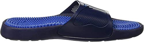 Arena Marco X Grip Hook Ciabatta Massaggiante, Unisex adulto, Solid Fastblue/Navy, 44
