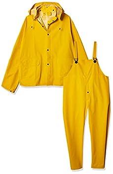 fisherman yellow raincoat