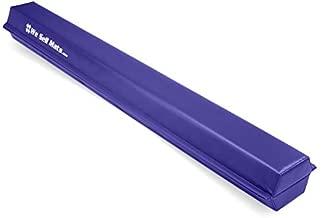 We Sell Mats 9 ft Folding Foam Balance Beam Bar, Portable Gymnastics Equipment for Gymnast, Children or Cheerleaders, Purple