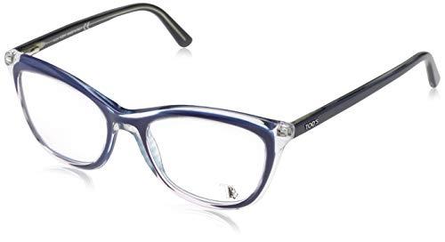 TOD'S Tod'S Brillengestelle TO5137 Rechteckig Brillengestelle 51, Blau