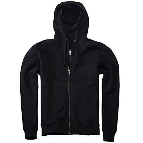 Tex-Ha PG Wear Smuggler Full Face Ninja schwarz Kapuzenjacke Hoodie (XL)