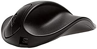 Hippus S2UB-LC Wireless Light Click Handshoe Mouse (Right Hand, Small, Black)