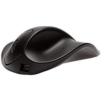 Hippus S2UB-LC Wireless Light Click Handshoe Mouse (Right Hand, Small, Black)