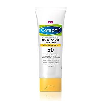 Best cetaphil sunscreen spf 50 Reviews
