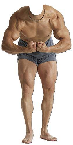 falksson Muskel-Mann standin Pappaufsteller