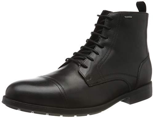 Geox Herren U HILSTONE WIDE NP ABX B Klassische Stiefel, Schwarz (Black C9999), 43 EU