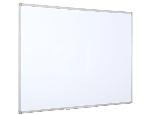 Bi-Office Earth-It Maya ecológica pizarra blanca, magnético, con marco de aluminio, color blanco, color blanco 180 x 120 cm