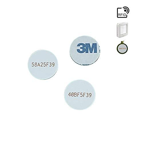 TECHNEE Microchip di identificazione a radiofrequenza (3 Pezzi)