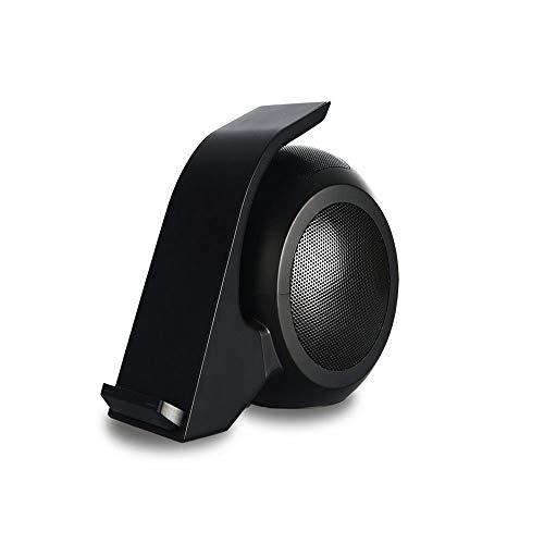 ZSTY Bluetooth-luidspreker voor mobiele telefoon, draadloos, compatibel met smartphones, tablets, laptops en desktops, zwart