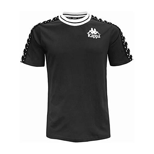 Kappa T-Shirt UOMO Authentic ANCHEN 3030CA0.907 (XXL - 907 Black-White)