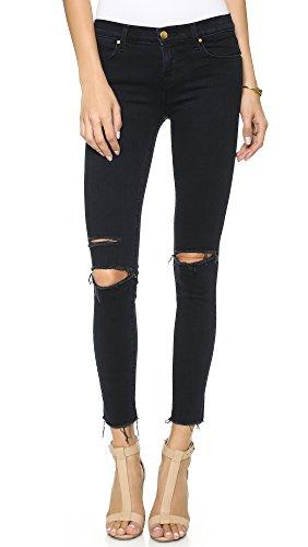 J Brand Jeans Women's 8227 Ankle Mid Rise Skinny Jean, Blue Mercy, 24