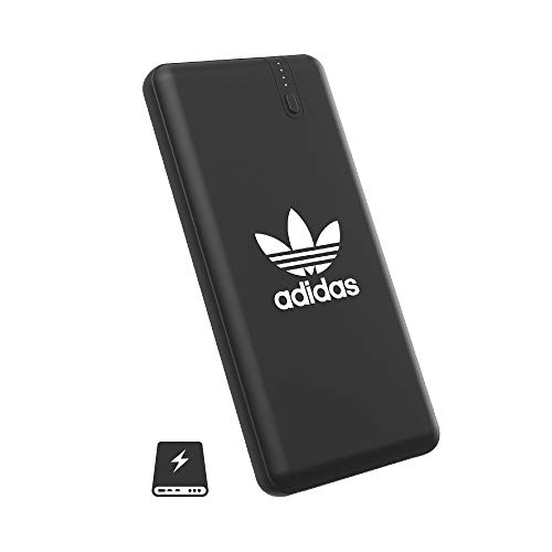 adidas Originals 8,000mAh Dual USB Power Bank Portable Charger Compact External Battery Universal for iPhone, iPad, Samsung, Nexus, Pixel, HTC and More