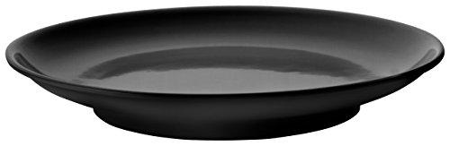 LACOR Plat Ronde de mélamine 6 cm, diámetro de 44 cm Noir