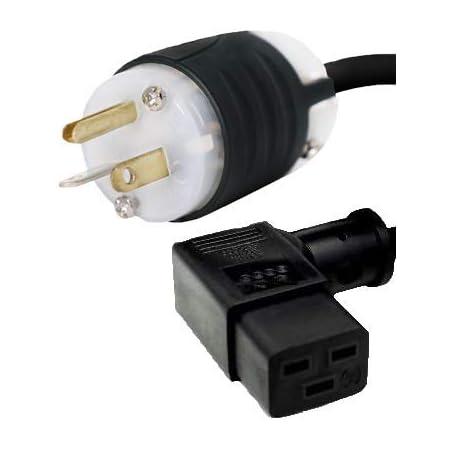 PTC NEMA 5-20P To NEMA 5-20R Power Extension