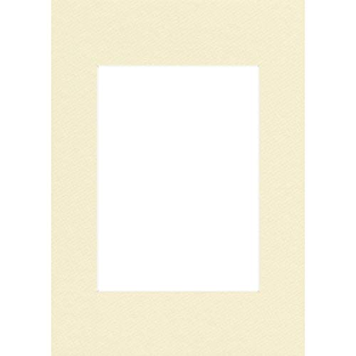 Hama - 63260 - Passe-partout Premium, ivoire, 50 x 70 cm