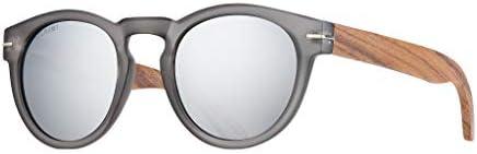 BLUE PLANET Polarized Men Women Sunglasses ECO Sustainable Ladies Walnut Wood Designer Eyewear product image