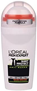 L'Oréal Paris Men Expert Shirt Protect Roll-On 50ml (Pack of 6)