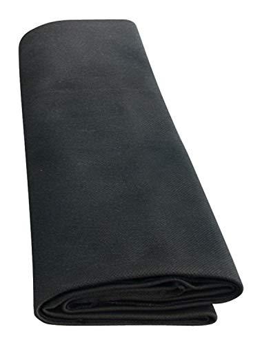 Dynavox HiFi-Bespannstoff, Akustik-Stoff für Lautsprecher, Maße 150x75 cm, schwarz