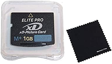1GB XD Memory Card Type M+, 1 GB XD Picture Card, XD Memory Card, 1GB XD Card for FujiFilm and Olympus Cameras Using XD-Picture Cards, M+ XD Camera Card with Memory4You (tm) Microfiber Cleaning Cloth