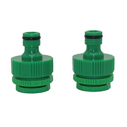 MMINGX Adaptador De Grifo De 100 Piezas Conectores Rápidos 1/2 Pulgadas 3/4 Pulgadas 1 Pulgada De Hilo Interno Jardín Manguera De Agua Accesorios De Irrigación (Diameter