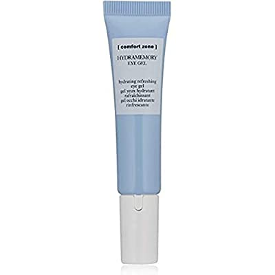 Comfort Zone Hydramemory Hydrating Eye Gel - 15ml Bottle - Rich in Polyphenols - For Tired Eyes and Dark Circles - With Metal Applicator - Refreshing - Suitable for Vegans - Natural Ingredients by Davines S.p.A.