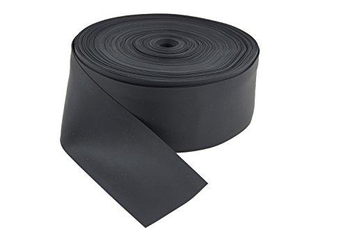 Fugendichtband, Dichtband, Weich-PVC, 2 x 50 m x 60 mm, VP 100 Meter Schwarz 100m
