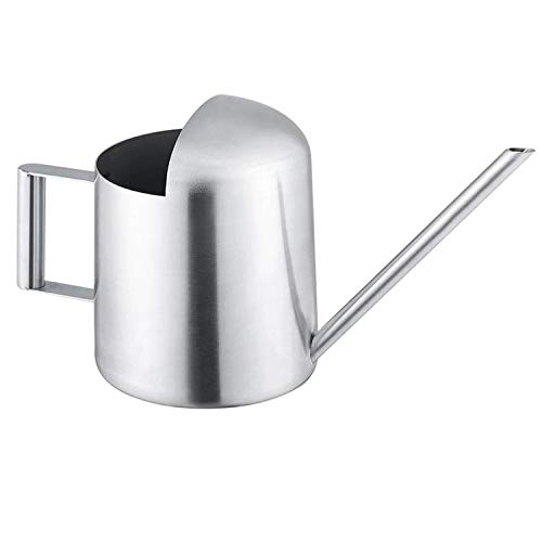 YISSN Mini Bonsai Watering Can for Indoor Plants Stainless Steel, 10oz/300ml