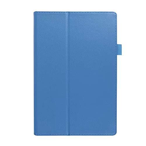 GOGODOG Sony Xperia Z2 Tablet / Z4 Tablet Funda Ultra Delgado Funda Protectora de Cuero para protección Corporal Completa Parachoques Protector de Carcasa Funda de Soporte (Z2, Azul)