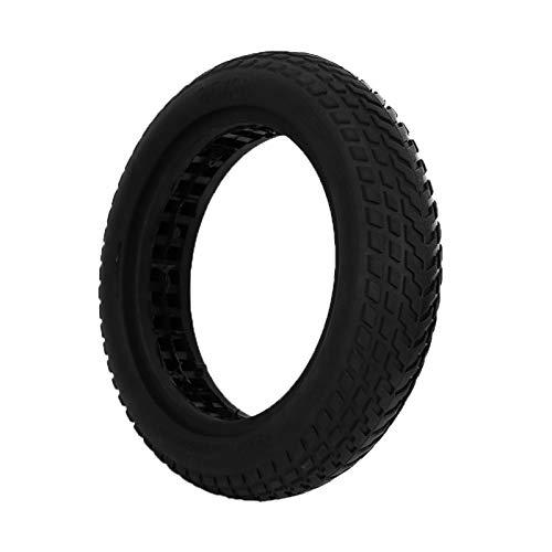 Chipoee Piezas de Scooter-para neumático de Scooter eléctrico M365 neumático sólido Negro