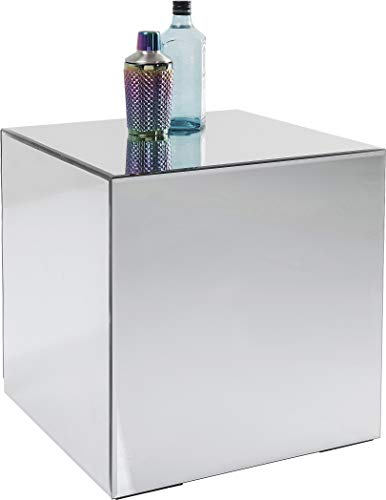 Table d'appoint Luxury 45x45cm Argent Kare Design