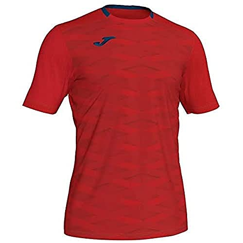 Joma Academy Camisetas, Hombre, Rojo, S