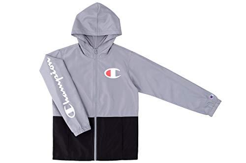 Champion Kids Boys Windbreaker Jacket with Hood