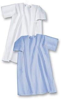 Suprima Pflegehemd zum Binden, Kurzarm - blau - Art 4-072-005 - Gr. 48-50
