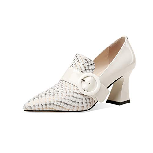 TinaCus Patent and Genuine Leather Women's...